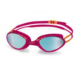 Head Tiger Race Mid - Gafas de natación - rojo/azul